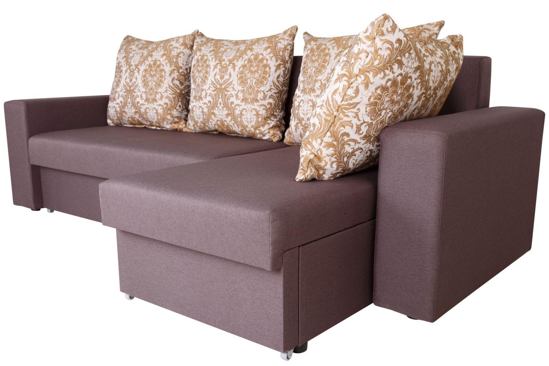 Угловые диваны - Диван угловой Гетьман №151 ткань Brilliant фото 9 - ДиванКиев