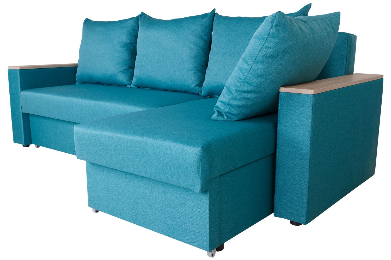 Угловые диваны - Диван угловой Гетьман №152 ткань Brilliant фото 3 - ДиванКиев