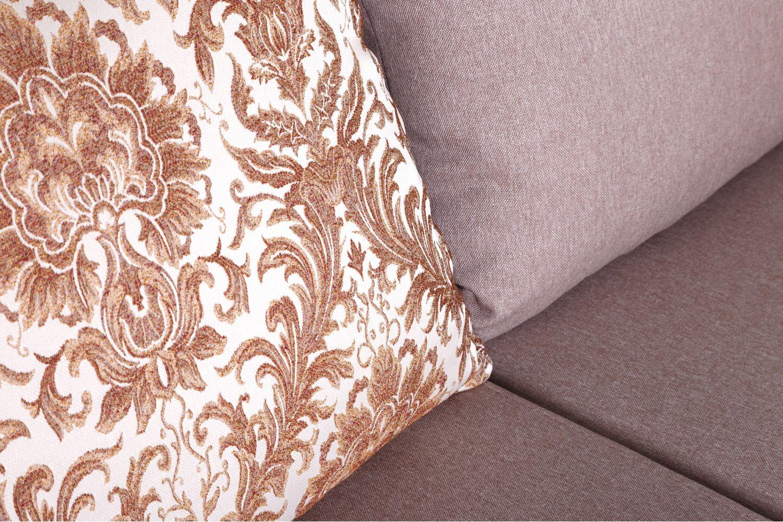 Угловые диваны - Диван угловой Император №153 ткань Brilliant фото 4 - ДиванКиев
