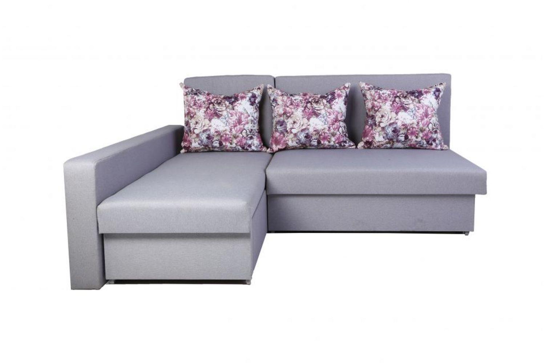 Угловые диваны - Диван угловой Монарх с одним подлокотником №54 ткань Brilliant фото 1 - ДиванКиев