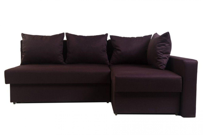 Угловые диваны - Диван угловой Монарх с одним подлокотником №55 ткань Brilliant фото 1 - ДиванКиев