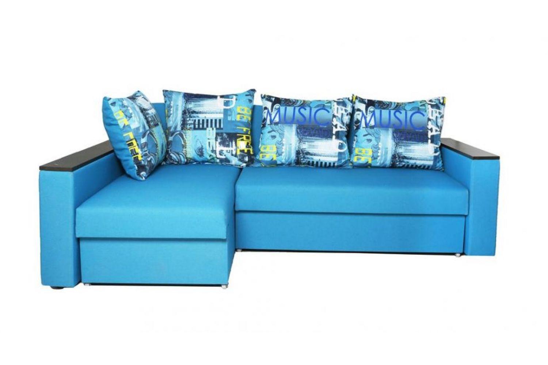 Угловые диваны - Диван угловой Монарх №12 ткань Brilliant фото 1 - ДиванКиев