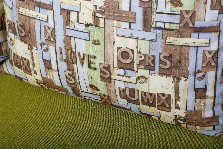 Прямые диваны - Сенатор 1 Ткань Brilliant фото 3 - ДиванКиев
