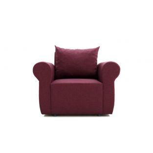 Кресло Босс с английскими подлокотниками №23 ткань Platinum