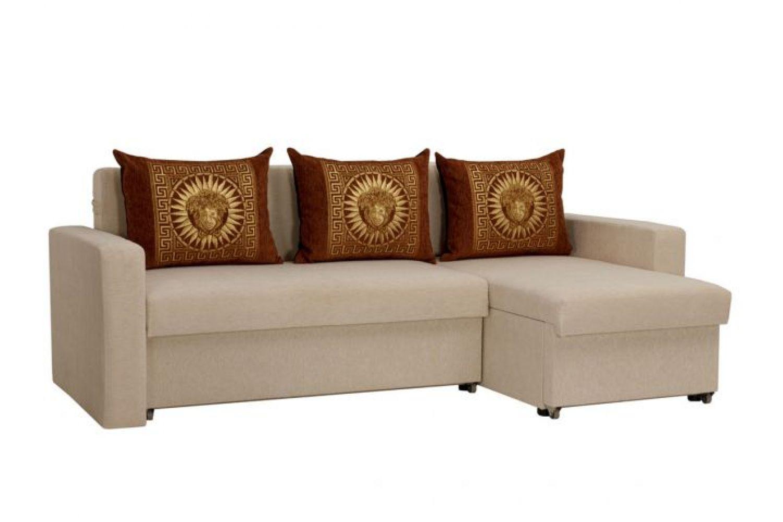 Угловые диваны - Гетьман 43 Ткань Gold фото 1 - ДиванКиев