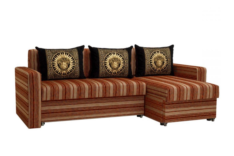 Угловые диваны - Гетьман 17 Ткань Silver фото 1 - ДиванКиев