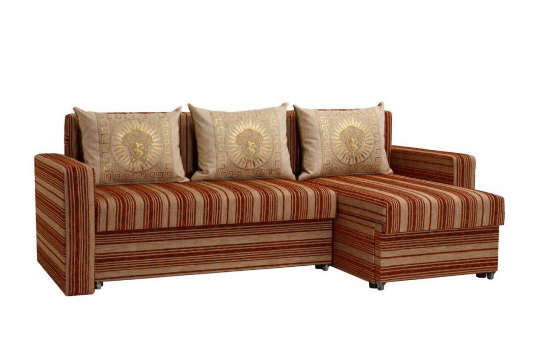 Угловые диваны - Гетьман 33 Ткань Silver фото 1 - ДиванКиев