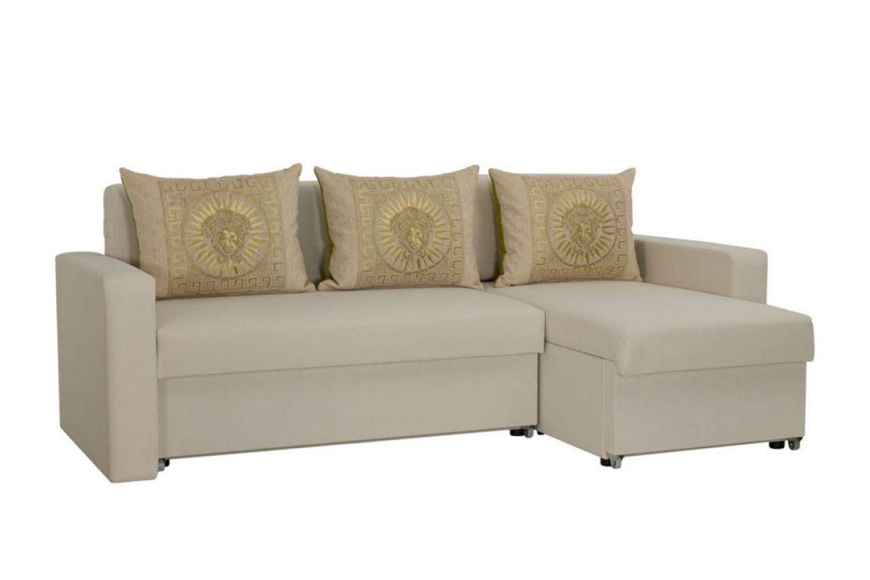 Угловые диваны - Гетьман 47 Ткань Gold фото 1 - ДиванКиев