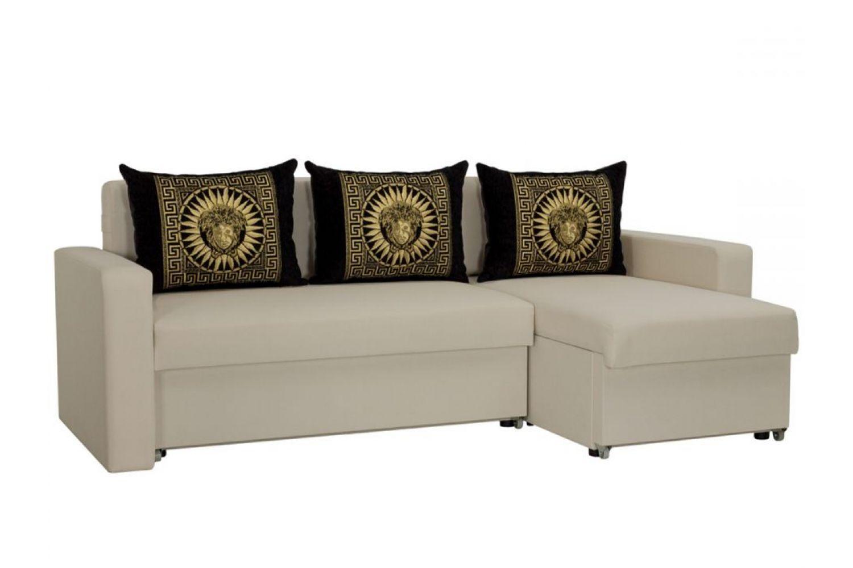 Угловые диваны - Гетьман 31 Ткань Silver фото 1 - ДиванКиев