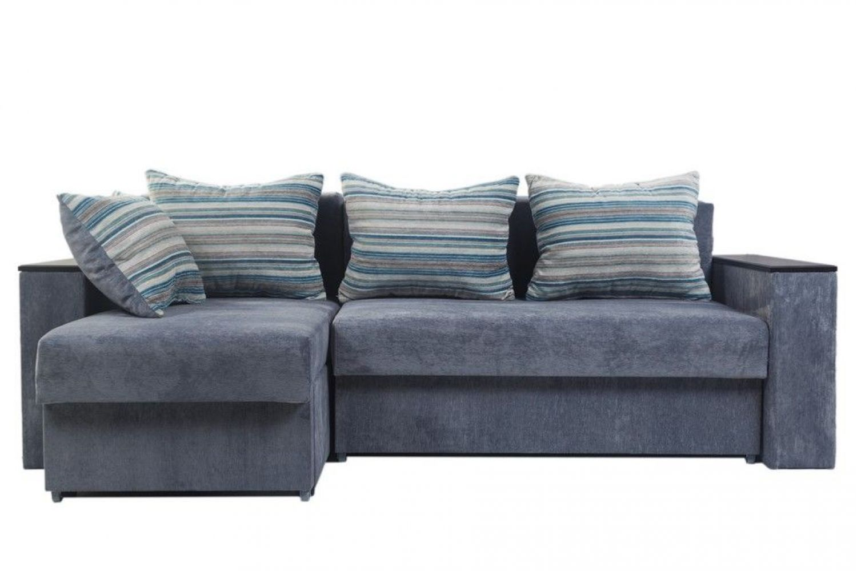 Угловые диваны - Гетьман 50 c открывными подлокотники Ткань Gold фото 1 - ДиванКиев