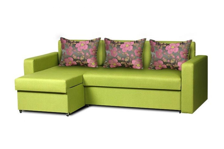 Угловые диваны - Гетьман 116 Ткань Brilliant фото 1 - ДиванКиев
