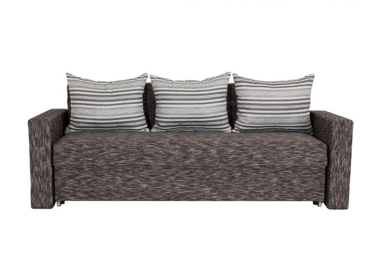 Прямые диваны - Президент 9 Ткань Silver фото 1 - ДиванКиев