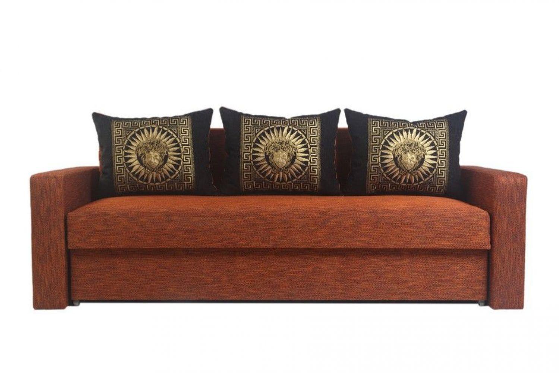 Прямые диваны - Президент 115 Ткань Silver фото 1 - ДиванКиев