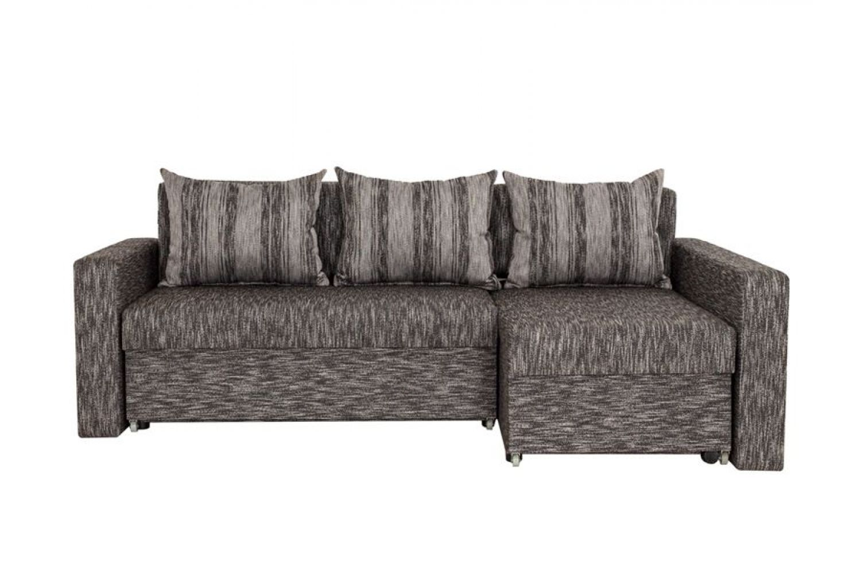 Угловые диваны - Монарх 5 Ткань Silver фото 1 - ДиванКиев