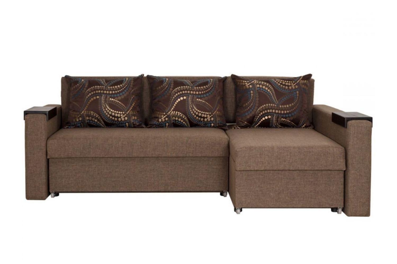 Угловые диваны - Монарх 30 Ткань Platinum фото 1 - ДиванКиев