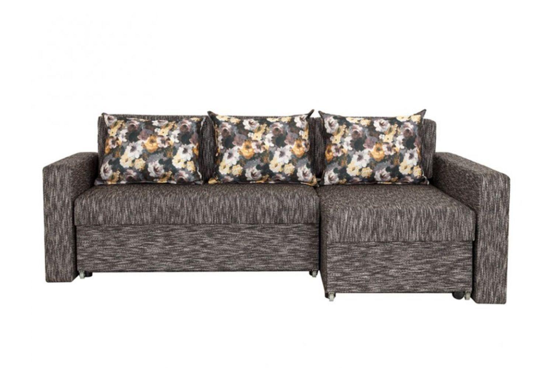 Угловые диваны - Монарх 4 Ткань Silver фото 1 - ДиванКиев