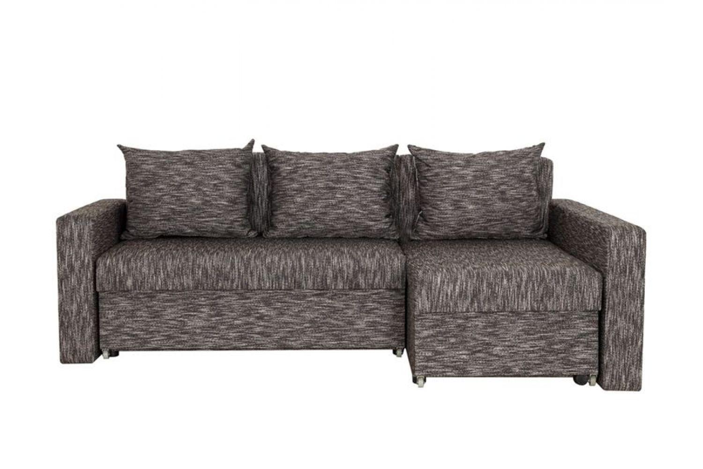 Угловые диваны - Монарх 3 Ткань Silver фото 1 - ДиванКиев