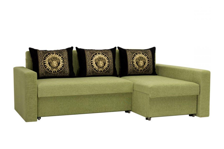 Угловые диваны - Монарх 36 Ткань Platinum фото 1 - ДиванКиев