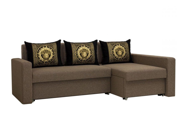 Угловые диваны - Монарх 41 Ткань Platinum фото 1 - ДиванКиев