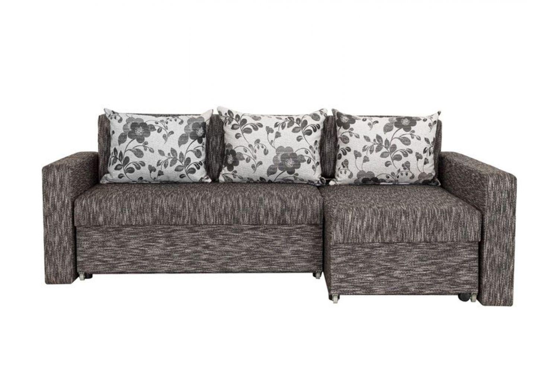Угловые диваны - Монарх 2 Ткань Silver фото 1 - ДиванКиев