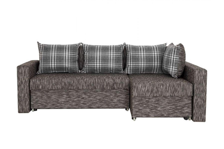 Угловые диваны - Монарх 1 Ткань Silver фото 1 - ДиванКиев