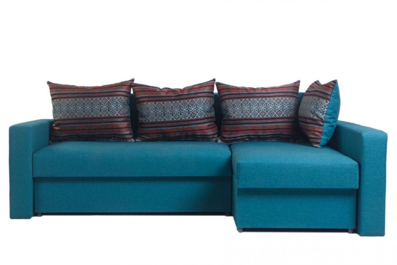 Угловые диваны - Монарх 45 Ткань Platinum фото 1 - ДиванКиев