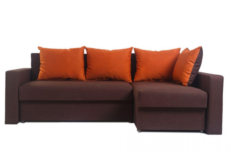 Угловые диваны - Монарх 46 Ткань Platinum фото 1 - ДиванКиев