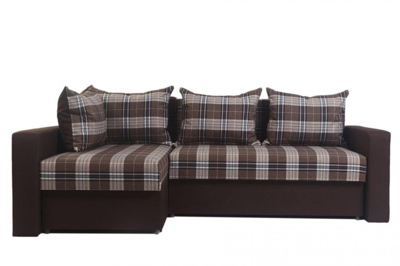 Угловые диваны - Монарх 49 Ткань Platinum фото 1 - ДиванКиев