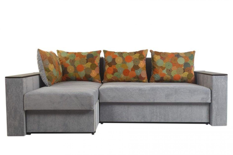 Угловые диваны - Монарх 10 Ткань Gold фото 1 - ДиванКиев