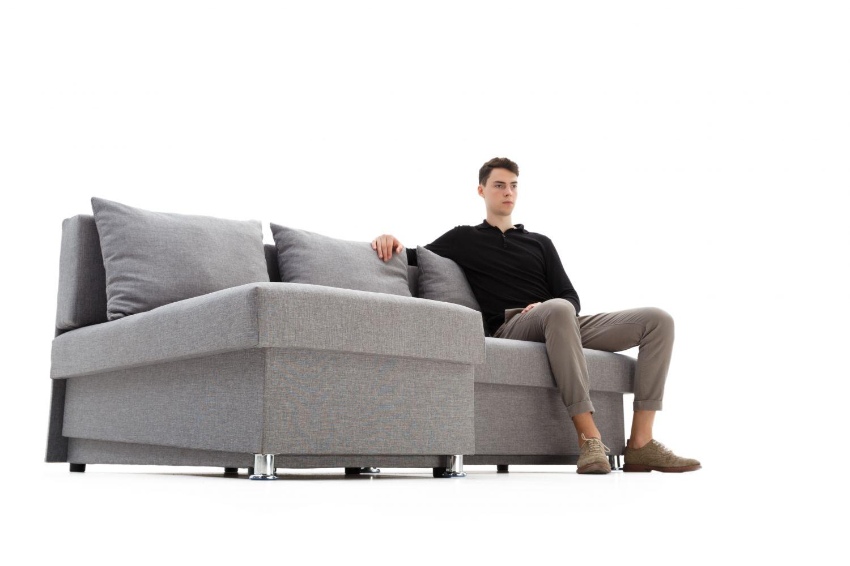 Конструктор диванов - Диван угловой Гетьман без подлокотников фото 6 - ДиванКиев
