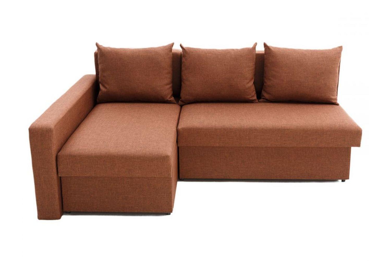 Угловые диваны - Монарх 11 с одним подлокотником Ткань Platinum фото 1 - ДиванКиев