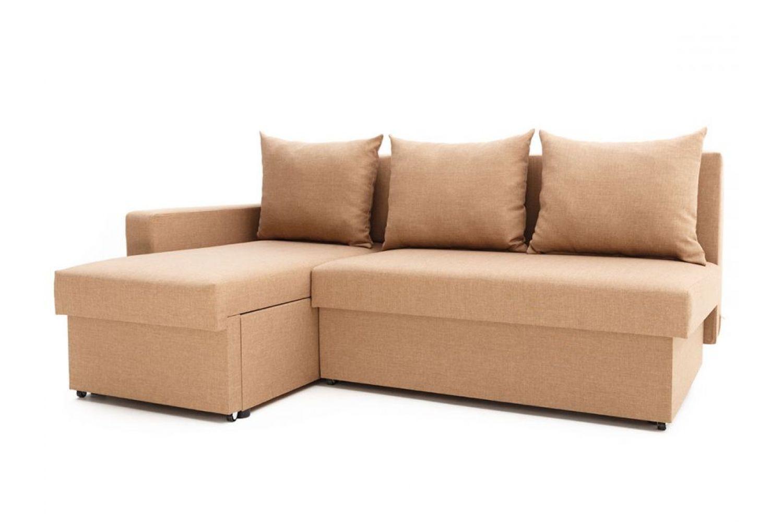 Угловые диваны - Гетьман 90 с одним подлокотником Ткань Platinum фото 1 - ДиванКиев