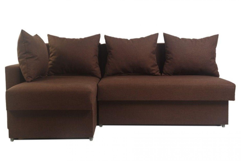 Угловые диваны - Гетьман 98 с одним подлокотником Ткань Platinum фото 1 - ДиванКиев